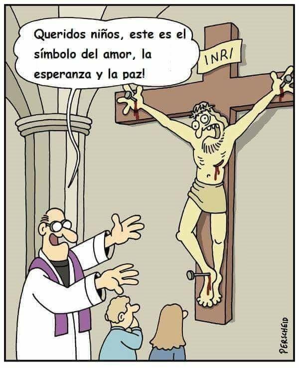 Pin De Primitivo En Insumision Humor Ateo Humor Absurdo Y