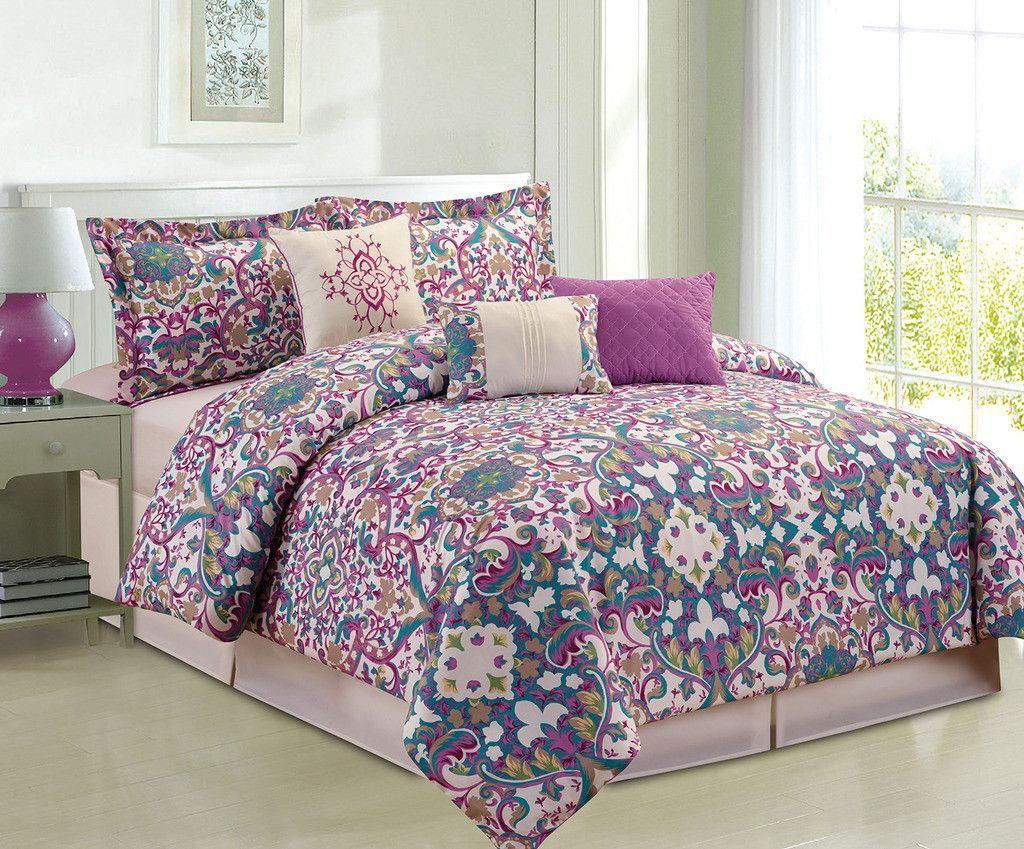 Middleton 6 Piece Comforter Set Comforter sets, Luxury