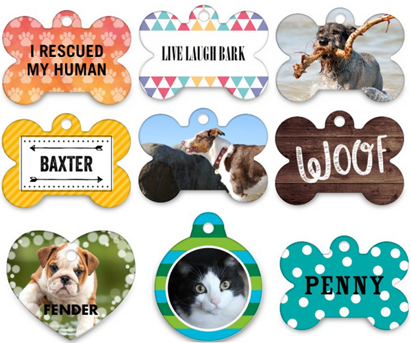 free personalized pet tag w shutterfly promo code 3 99 shipping