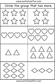 Look And Write Worksheets For Kindergarten
