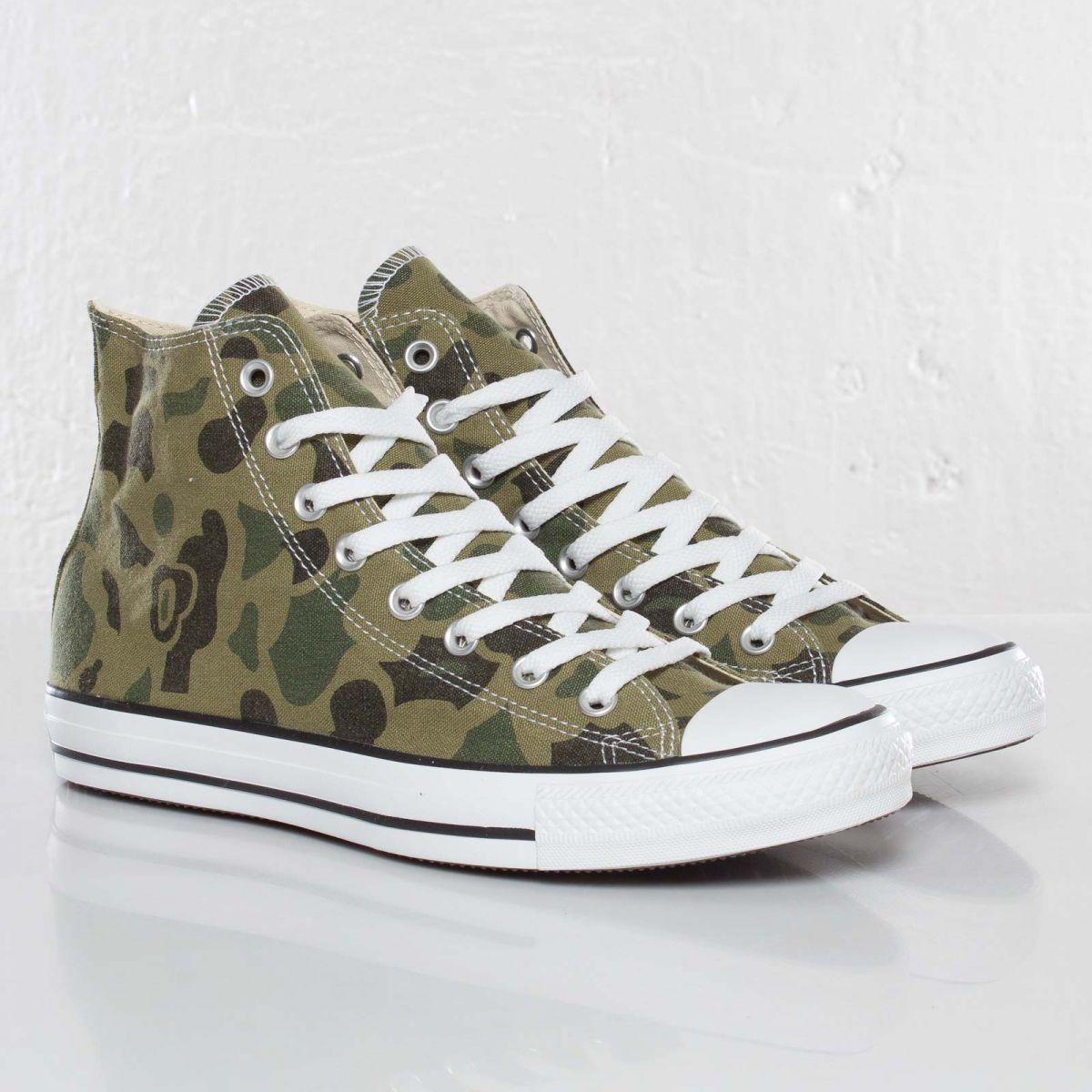 various colors dc1bc caac5 Converse Chuck Taylor All Star Hi  Olive Branch  Camo I have these, sooo  cute