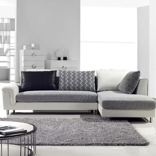 Hokku Designs Axis Right Hand Facing Sectional Sectional Sofa