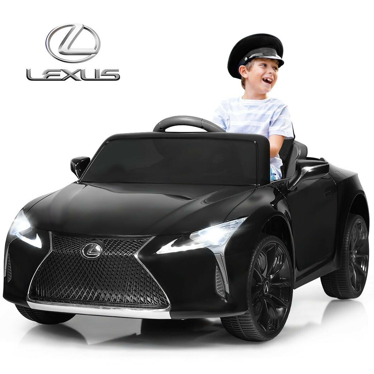 Kids 12v Ride Lexus Lc500 Licensed Remote Control Electric Vehicle Kids Ride On Lexus Electric Cars