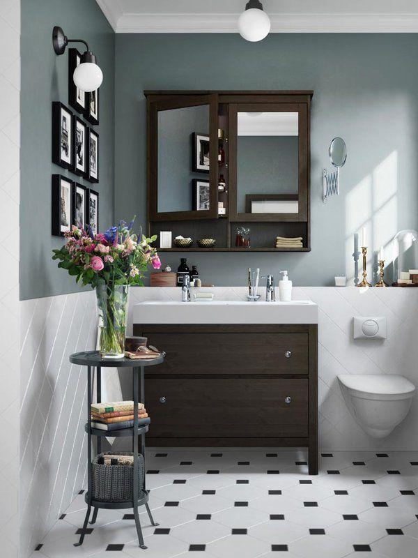 Baño como nuevo en un fin de semana | colores | Baño ikea, Cuarto de ...