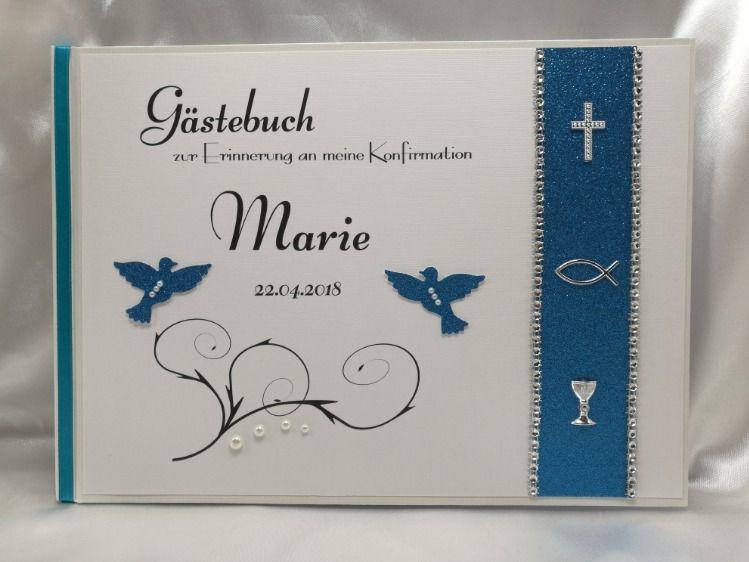 Kommunion Jugendweihe Gästebuch Konfirmation Firmung