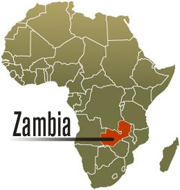 Map Of Africa Zambia  Deboomfotografie