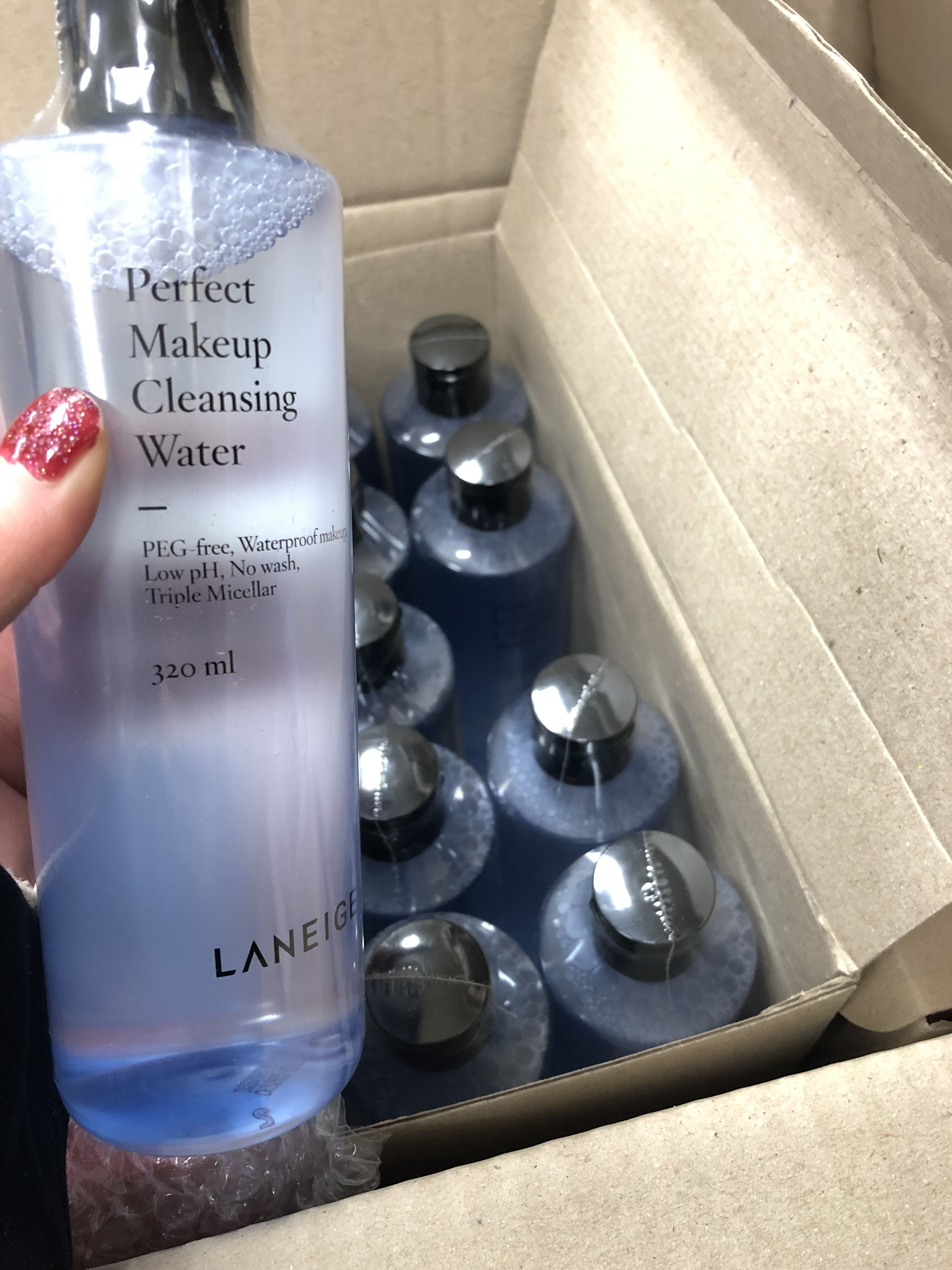 Laneige Perfect Makeup Cleansing Water Wholesale