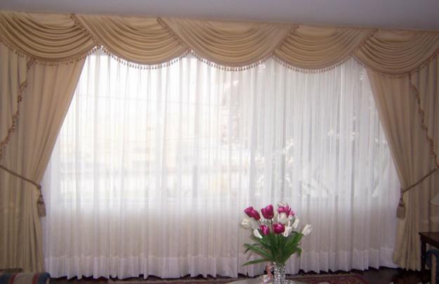 diseño de cortinas, ideas para cortinas, imagenes de cortinas - Cortinas Decoracion