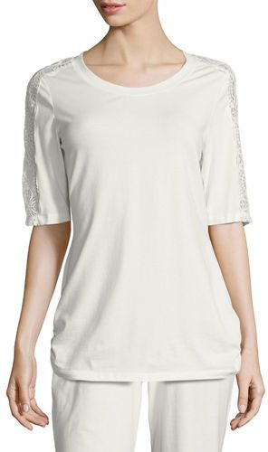 Cosabella Jersey Short-Sleeve Lounge Top