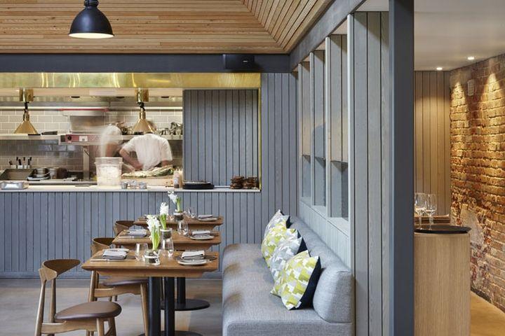The Woodspeen Restaurant By Softroom, » Retail Design Blog