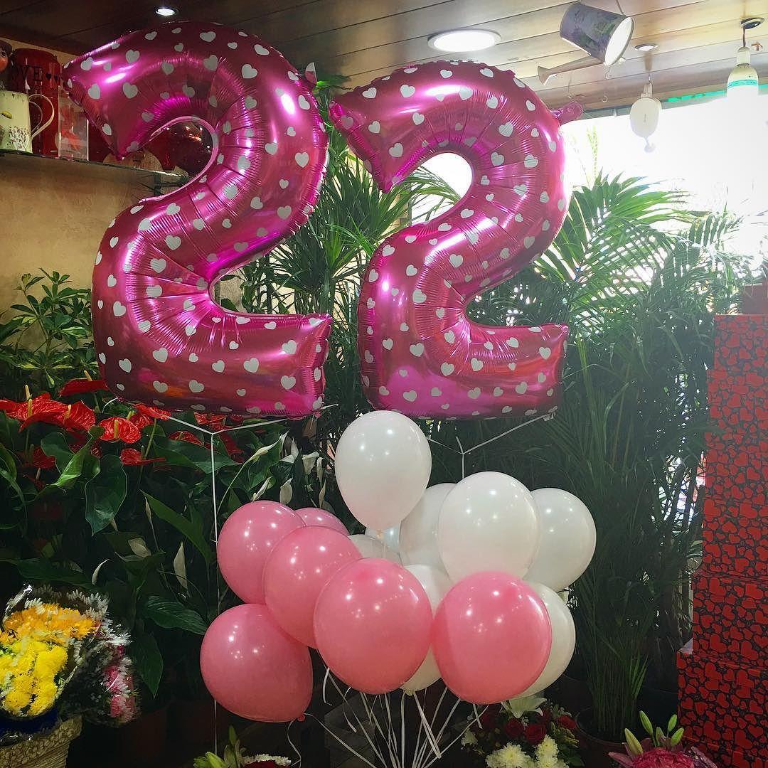 Happy 22 Birthday .. . #LaRoseBalloons . #LaRose #Balloons