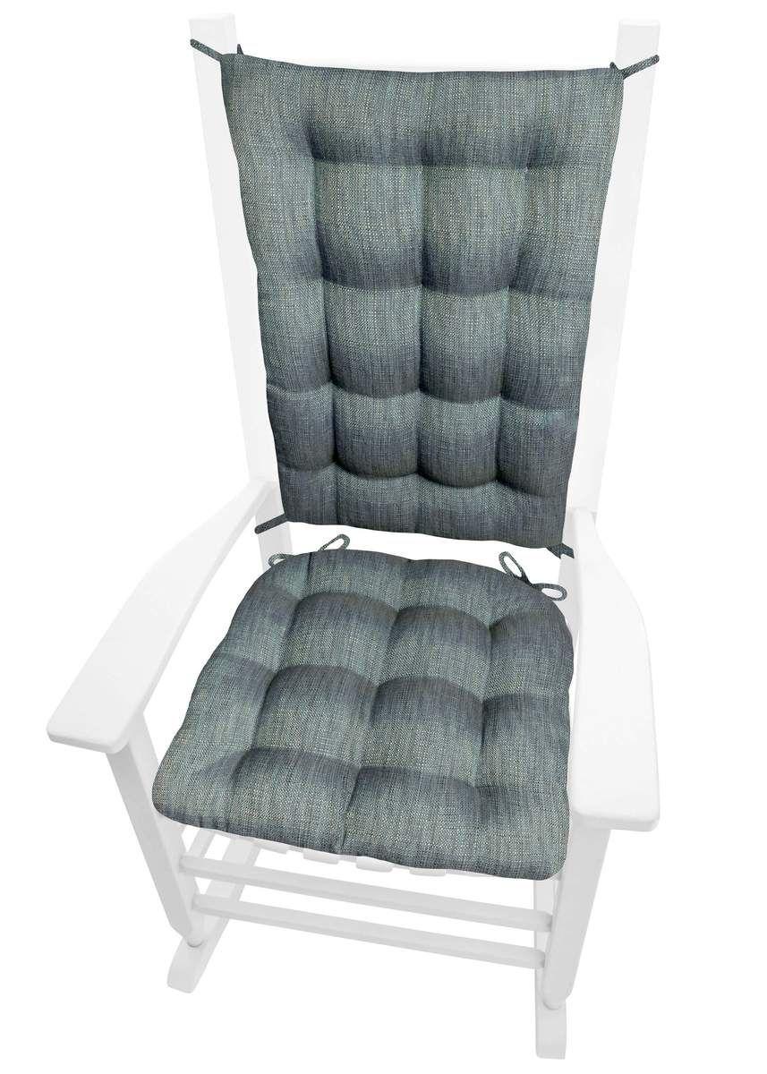 Excellent Handsome Teal Rocking Chair Cushion Latex Foam Fill Uwap Interior Chair Design Uwaporg