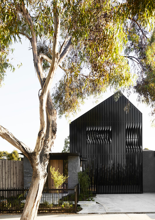 Gallery Of Cornerstone House Splinter Society 2 Gable House Architecture Australian Architecture