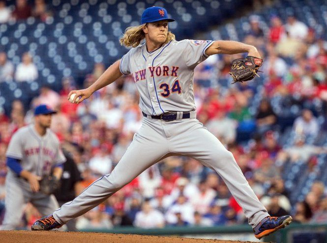 Noah Syndergaard isn't just a good young starter or one of the Mets co-aces. He's one of the best in all of baseball.