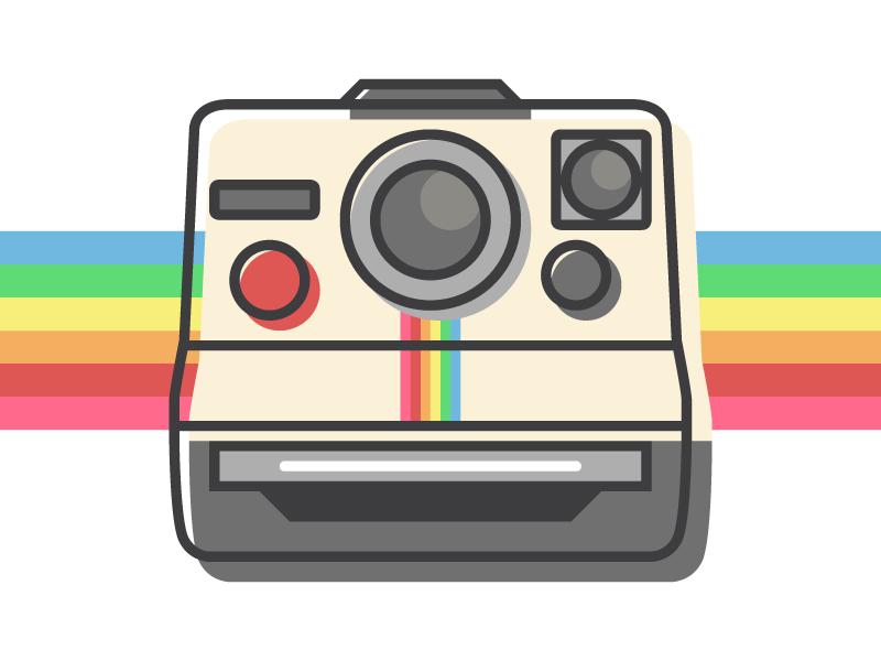 Polaroid Free Icon Free Icons Camera Drawing Instagram Highlight Icons