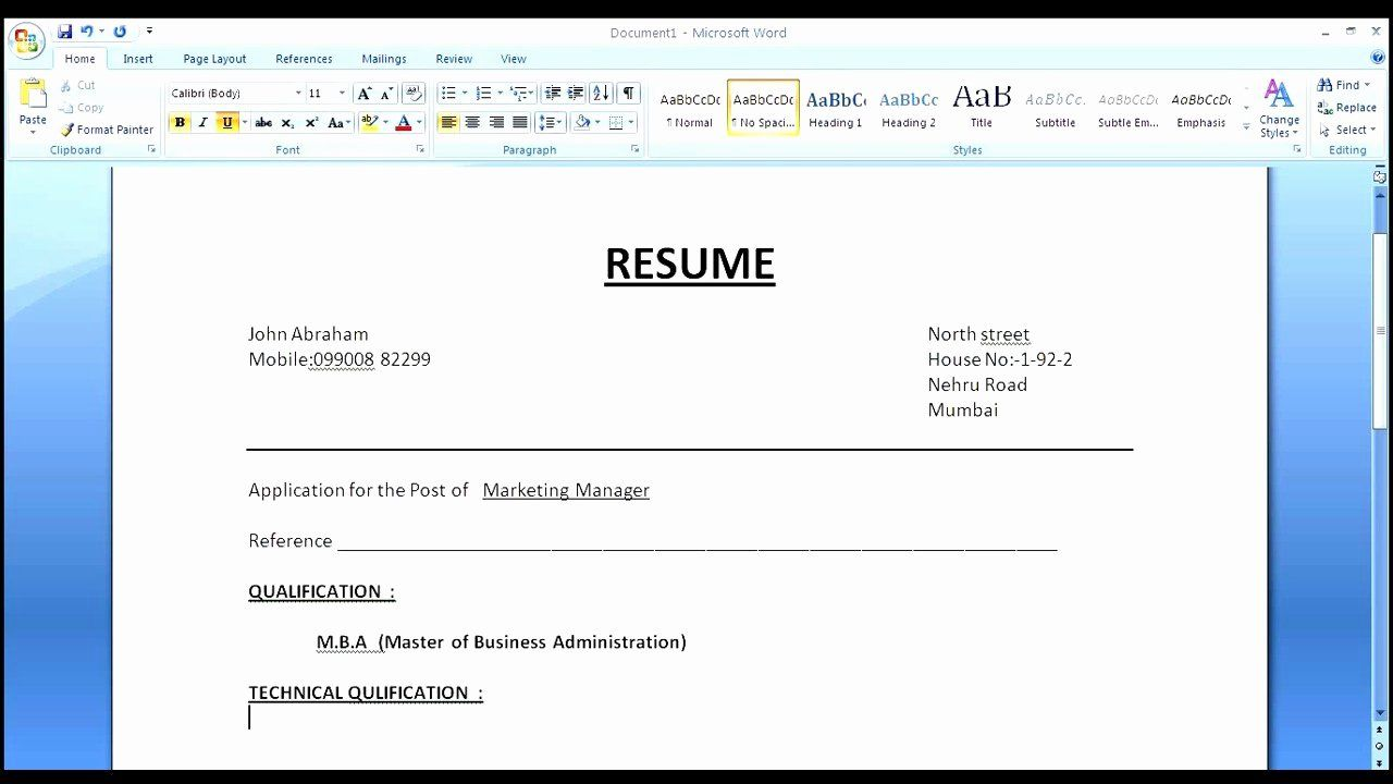 Resume Cover Page Template Word in 2020 Cover page