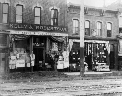 Denver Kelly Robertson Clothing Store On 2005 2007 Larimer Street Western History 1893 1890 1 Vintage Photographs Vintage Shops Vintage Photos