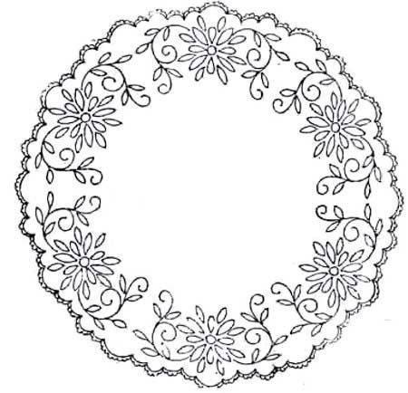 Free Vintage Hand Embroidery Patterns Pintangle Embroidery