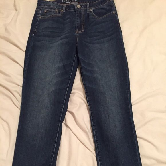 Aeropostale high waisted jeans Worn a few times cleaning closet after weight loss! Aeropostale Jeans Skinny