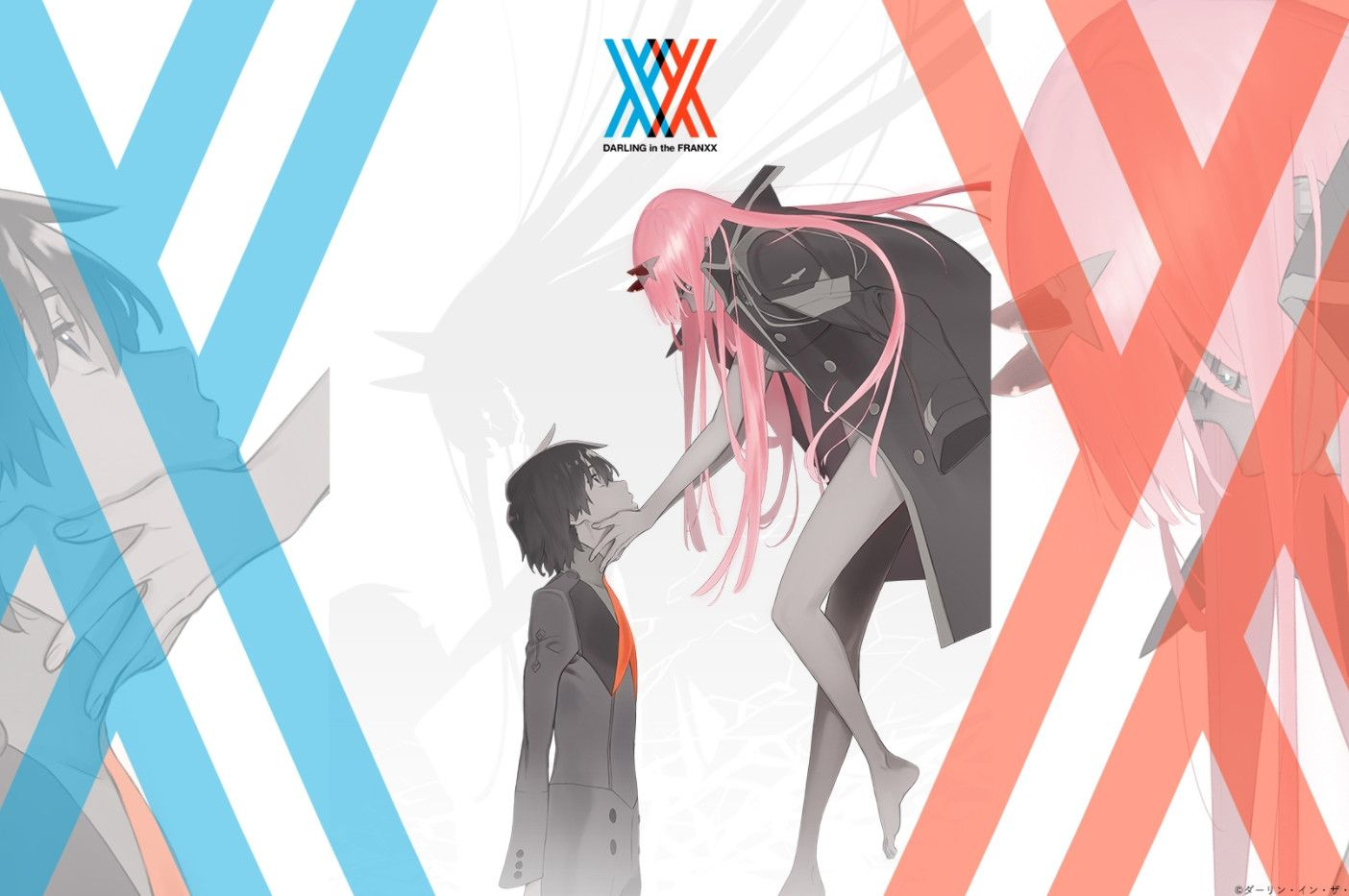 Darling in the FranXX Seni, Animasi, Binatang buas