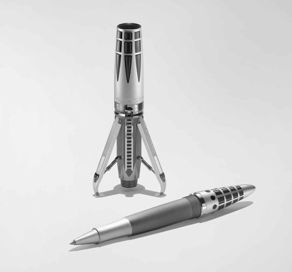 MB&F and Caran D'Ache Debut a Playful Pen Inspired by Space Travel
