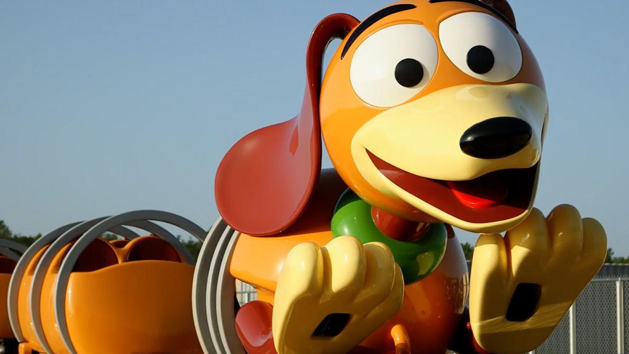 Slinky Dog Dash Toy Story Land