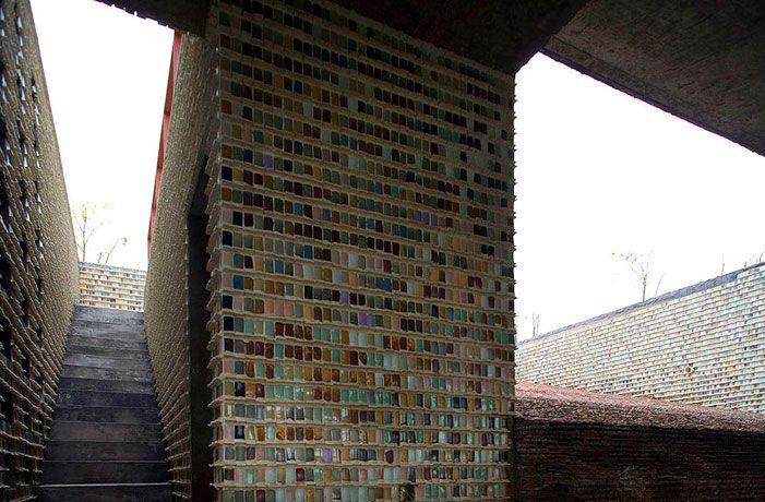 Ceramic House in Jinhua Architecture Park | Wang Shu © Iwan Baan