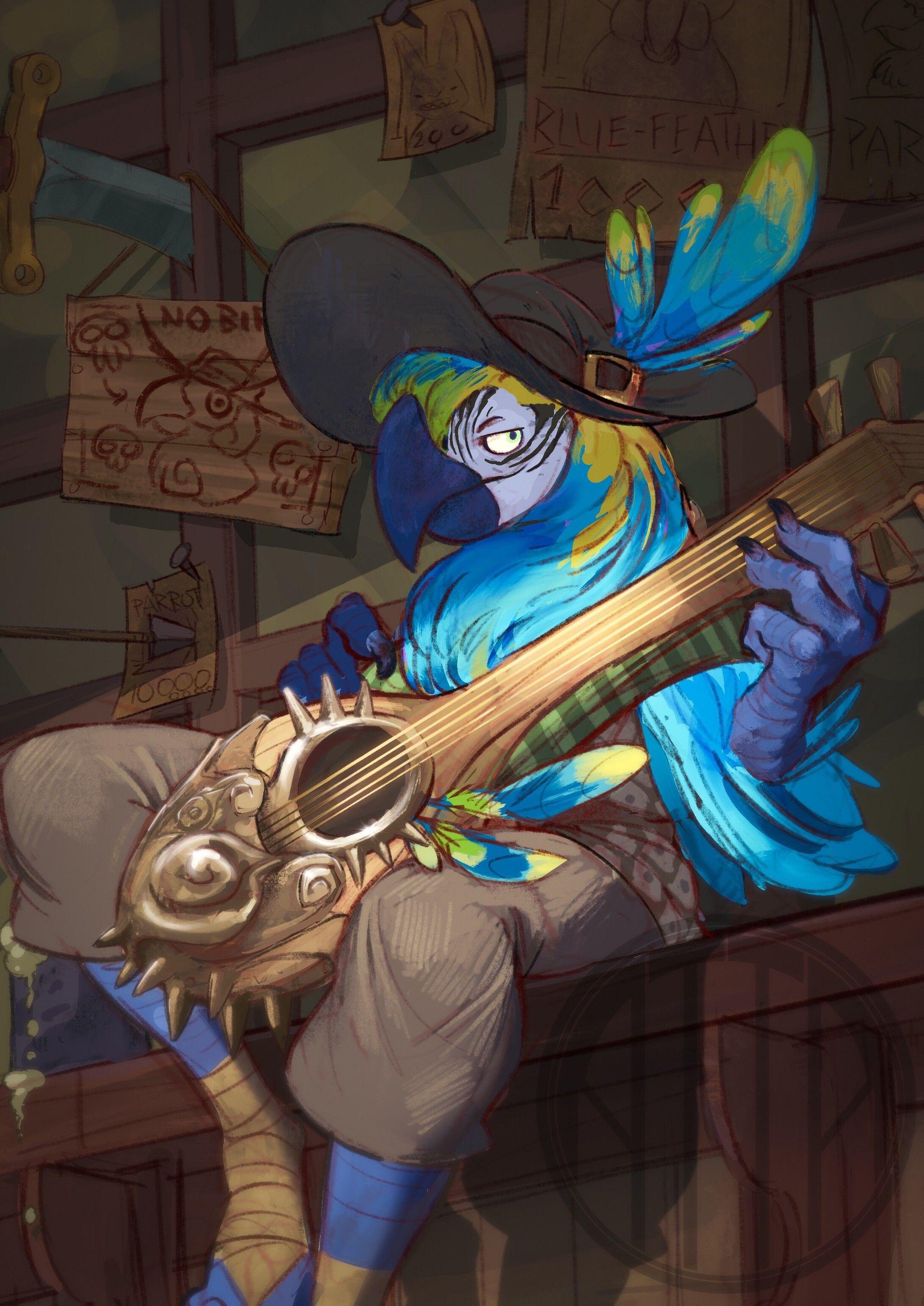 ArtStation - Blue-feather, Antoine Gerday