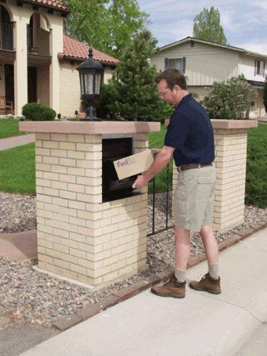 Parcel Drop Box Lockable Weather Proof Delivery Box For When You Re Out Facebook K H Garden Furniture Parcel Drop Box Drop Box Ideas Outdoor Decor