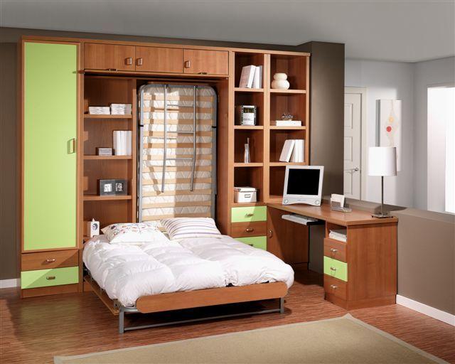 Camas empotradas en armarios buscar con google for Dormitorios juveniles modernos precios