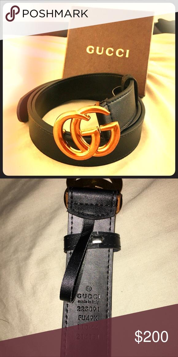 b6450c4444f Gucci Marmont GG Belt Men Women Designer Brand new!! Never worn Unisex belt   Looks good on both men   women. Size 110cm (fits size 30-36 waist) Offers  are ...