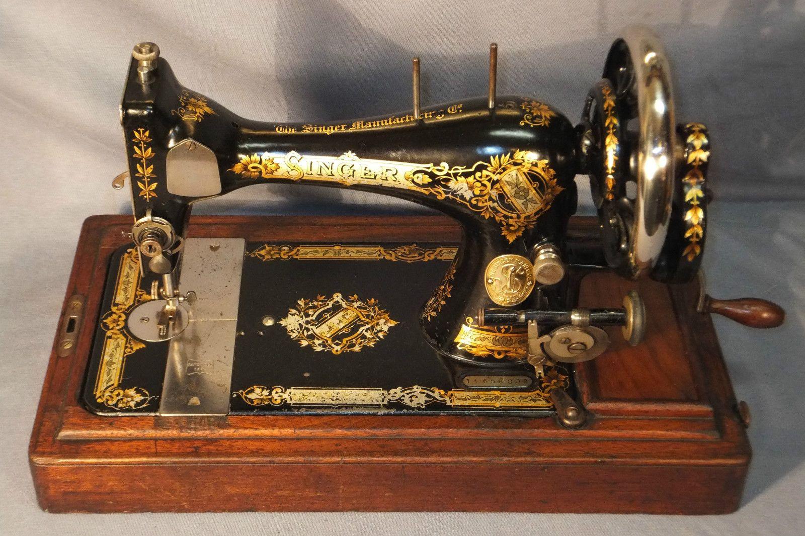 "1897 Singer 28K ""Victorian"" Sewing Machine ""Made in The United Kingdom"" | eBay"