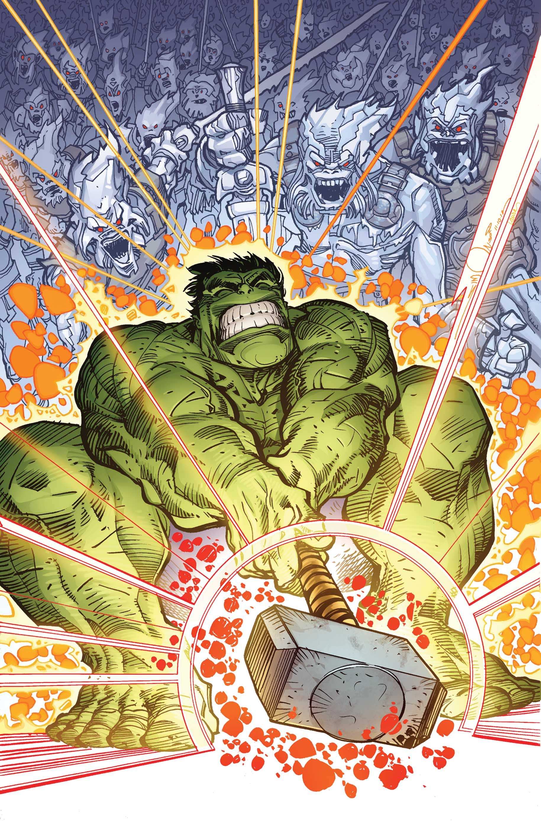 Hulk Fan Art Indestructible Hulk 6 Cover By Walter Simonson