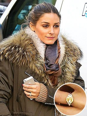Beau Olivia Palermou0027s Engagement Ring: Get A Good Look At Her Yellow Diamond  Sparkler!
