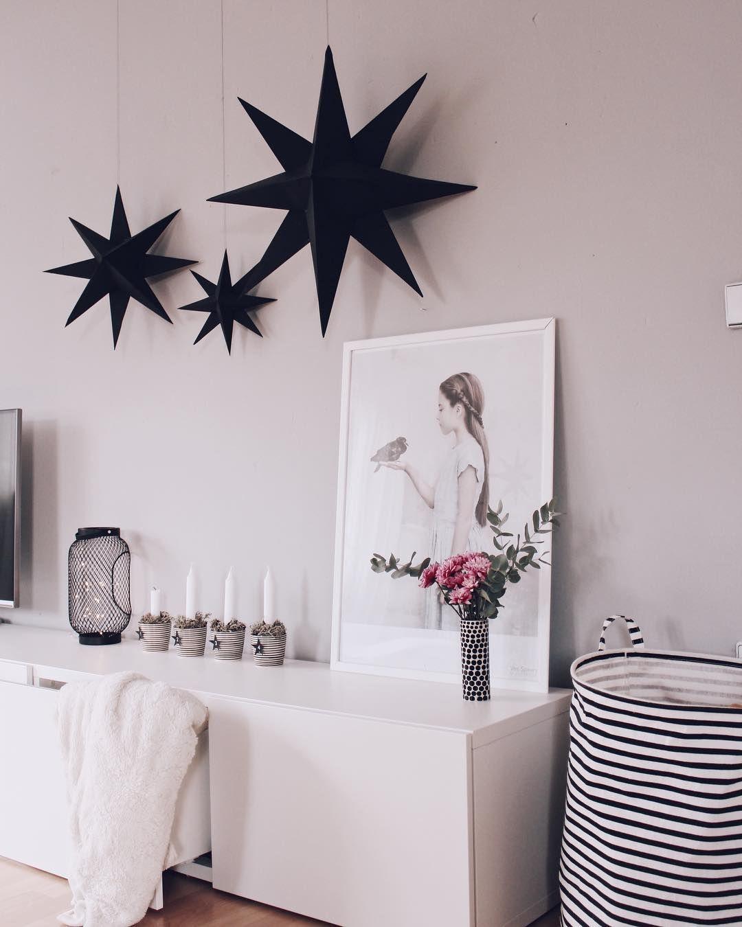 diy weihnachtsdeko sterne aus papier selber machen | instagram images