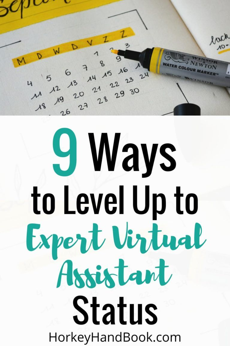 9 Ways to Level Up and Achieve Expert Virtual Assistant