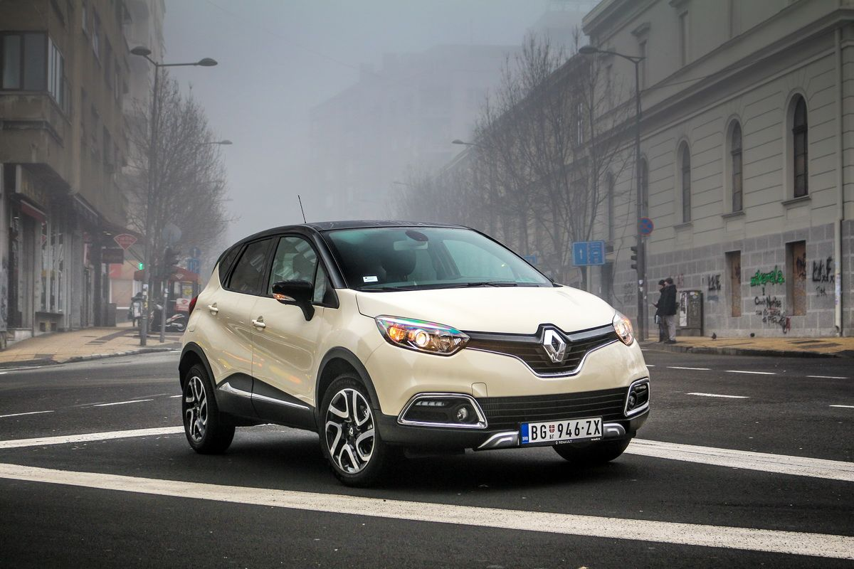 Proba Renault Captur Outdoor Dci 110 Outdoor Vehicles Car