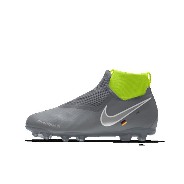 detailed look d5e07 bc68f Nike Phantom Vision Academy Jr. MG iD Fußballschuh für verschiedene Böden  für ältere Kinder