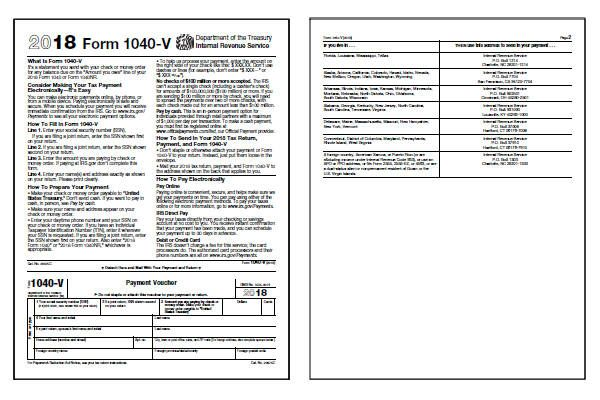form 1040 voucher  16 16-V Form and Instructions (16V) | coffee in 16 ...