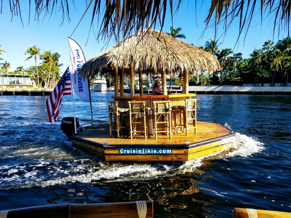 No its not booze goggles that really is a tiki bar
