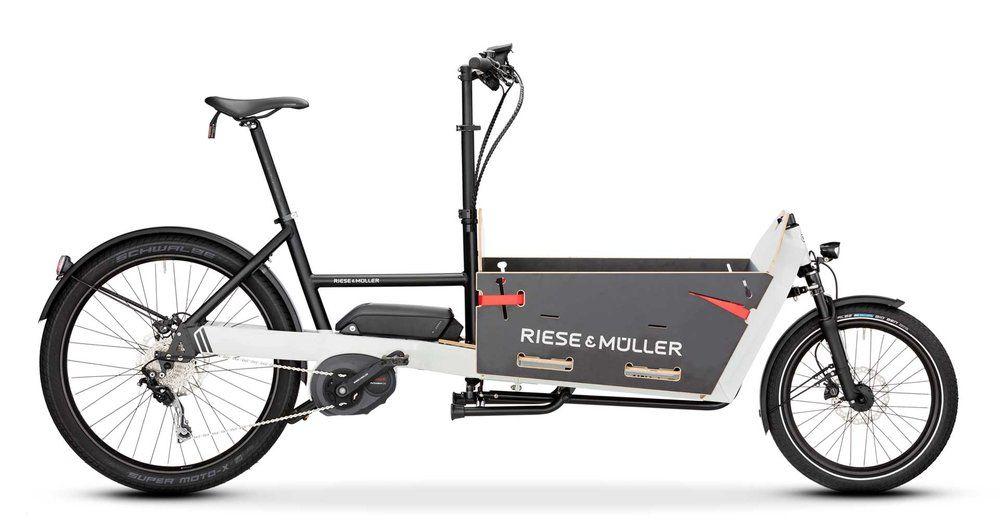Riese And Muller Packster 60 80 G O Family Cyclery Seattle Electric Bike Shop Cargo Bike Electric Cargo Bike Bike