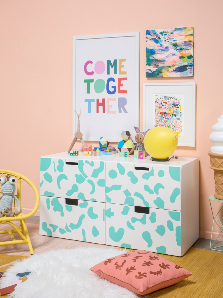 Pattern adventures an abstract playroom also interiors kids rooms rh pinterest