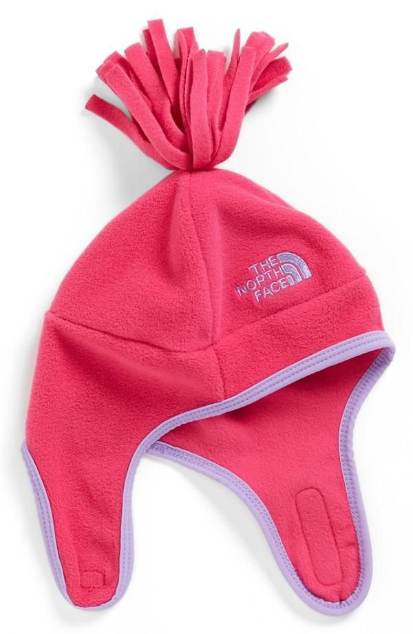 Fuzzy, Little Fleece North Face Hat  Baby Girl Hats -8265