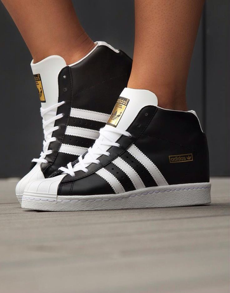 Adidas Superstar Up Shoes Black