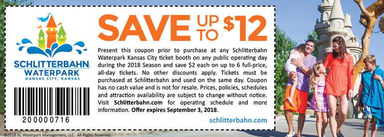 graphic relating to Schlitterbahn Printable Coupons identified as The Great Schlitterbahn Coupon codes and Schlitterbahn Price cut