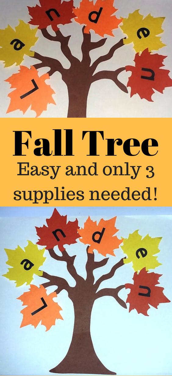 Fall Tree Craft For Kids -   20 fall crafts tree