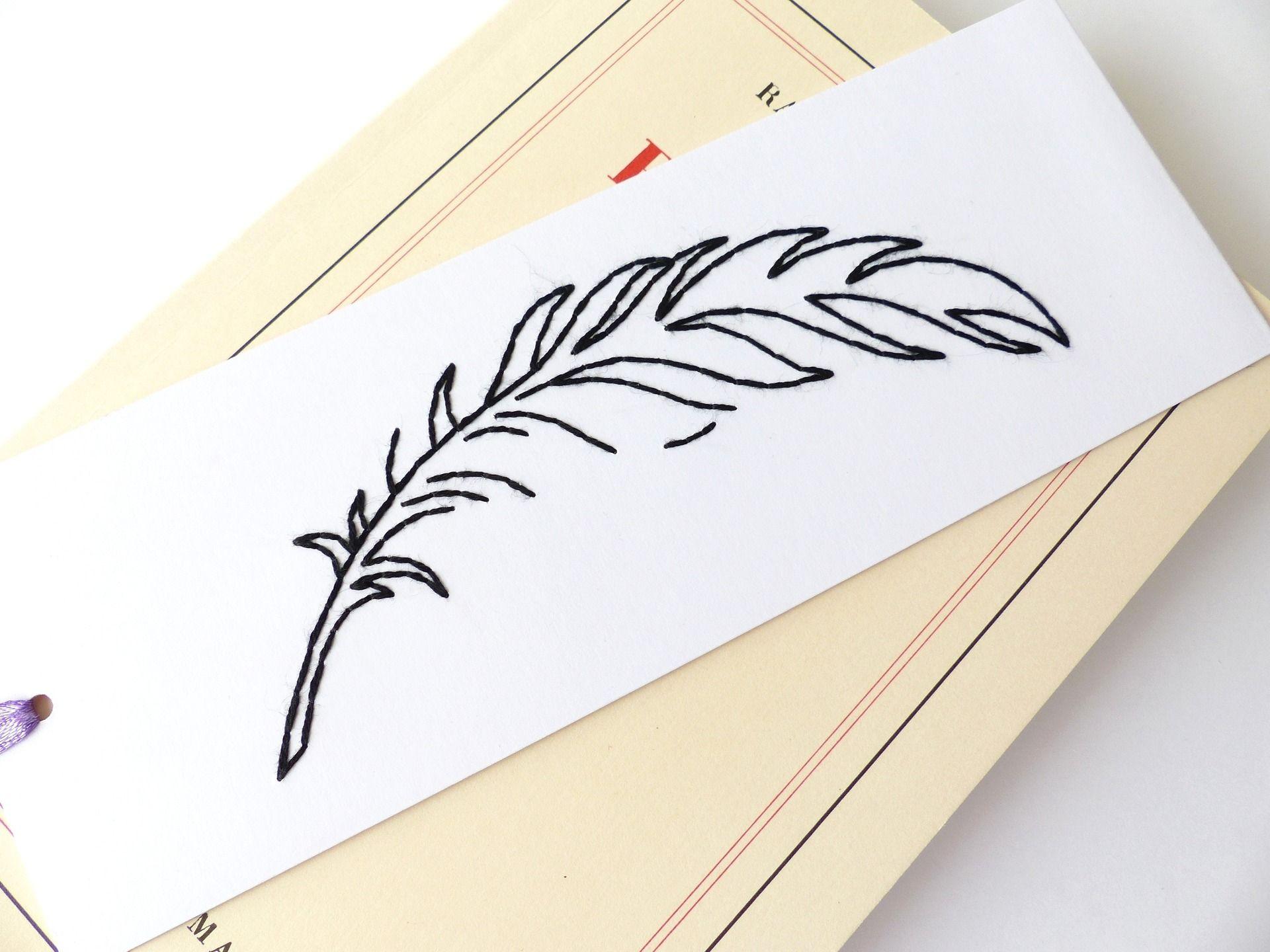 Dessin marque pages en papier - Marque page en papier ...
