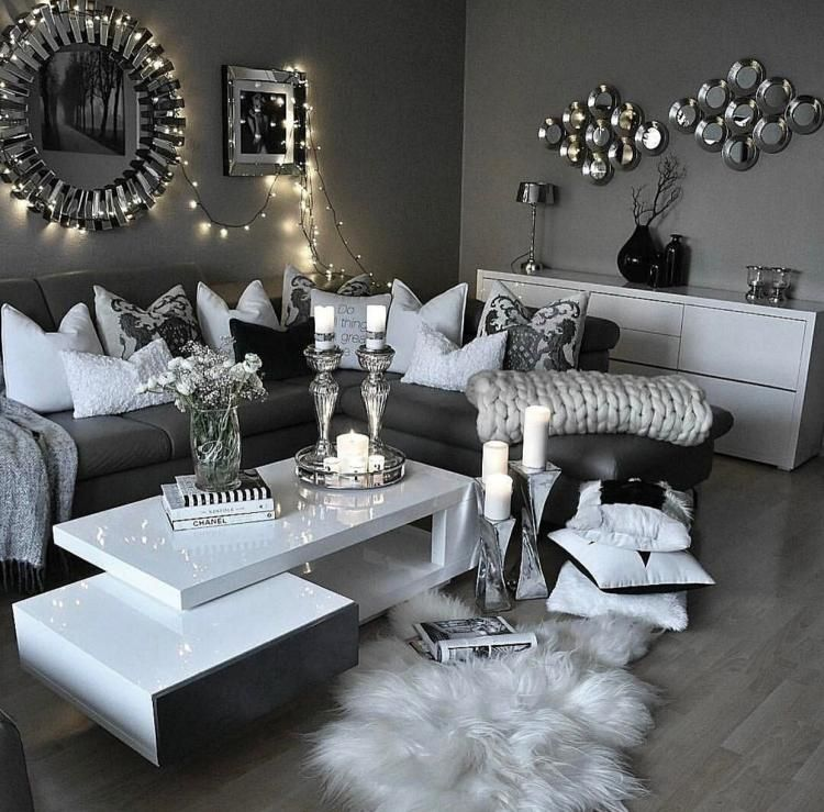 110 Fabulous Dark Grey Living Room Ideas To Inspire You Small Living Room Decor Living Room Decor Apartment Living Room Grey