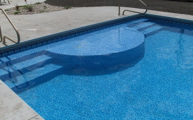Pin By Amanda Pierce On For The Home Pool Pool Steps Inground Pool Steps
