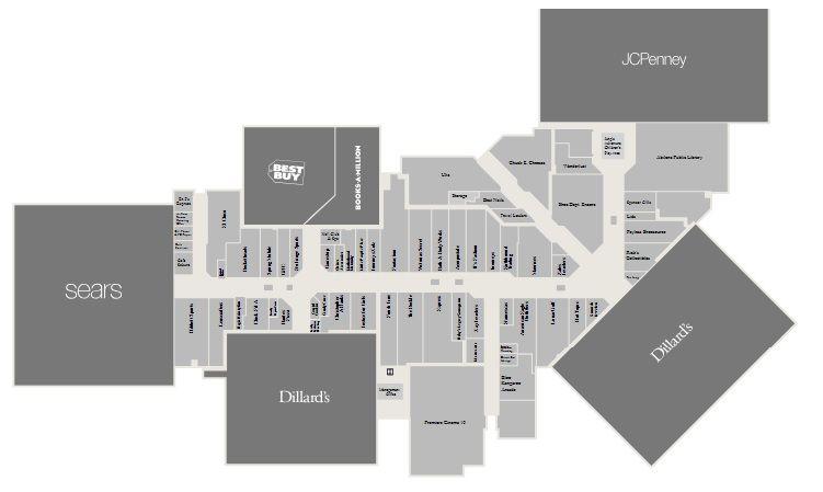 Mall Of Abilene Shopping Plan